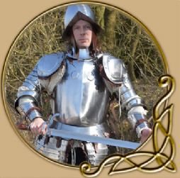 Infantory Half Armour with Morion helmet